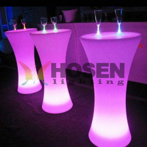 Led shiinning cocktail tableled-plastic-bar-cocktail-table_conew–f