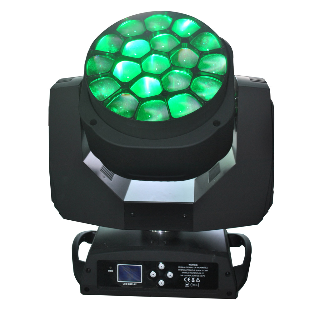 19x15w Pro K10 Bee-eye Led Moving Head Beam Zoom Light Led