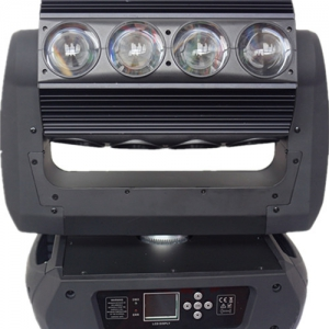 16X25W RGBW 4in1 LED Moving Head  matrix endless moving HS-LMB16256